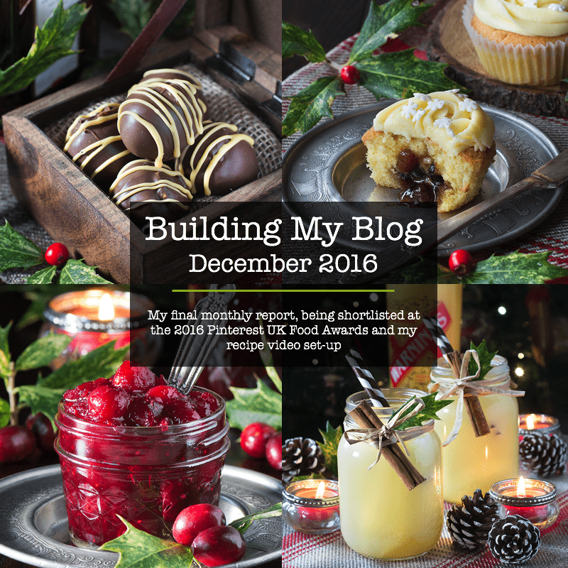 Building my blog december 2016 charlottes lively kitchen monthly food blog report for charlottes lively kitchen including the pinterest uk awards and my forumfinder