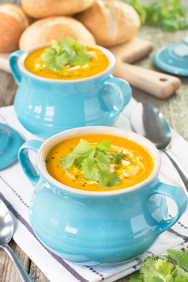Easy Carrot Coriander Soup Charlotte 39 S Lively Kitchen