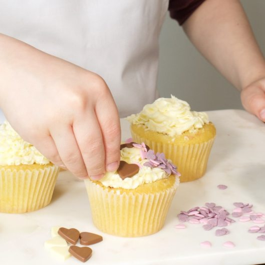 Heart Cupcakes 3