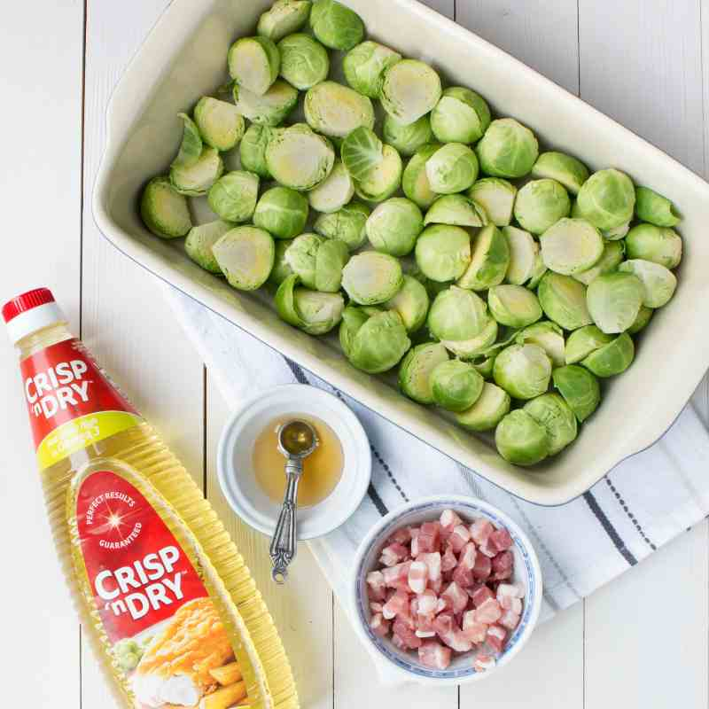 Roasted sprouts with a hint of honey and pancetta. The perfect accompaniment to your Christmas dinner. Plus my top tips for making Christmas day cooking stress free.