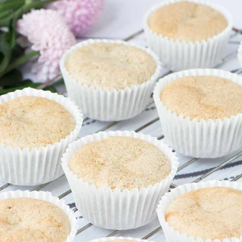 These all in one vegan vanilla cupcakes are easy to make and taste delicious. No one would guess that they're egg and dairy-free.