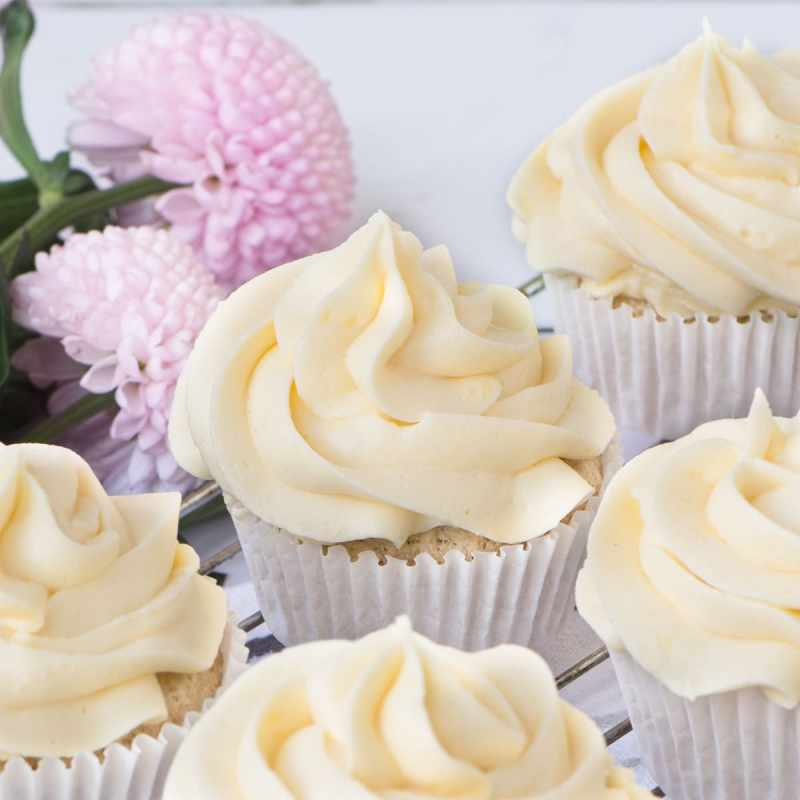 Vegan vanilla buttercream that is simple to make and tastes absolutely delicious.
