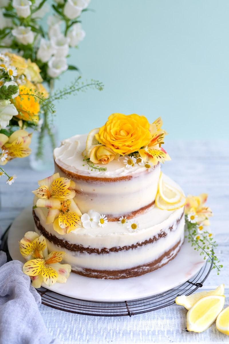 Lemon & Elderflower Cake