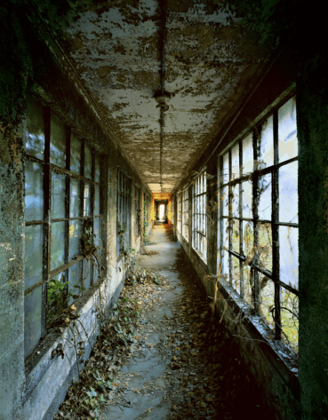 From the series titled 'Ellis Island' - Corridor 9