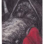 Drawing from Little Red Riding Hood by Artist Charlotte Steel