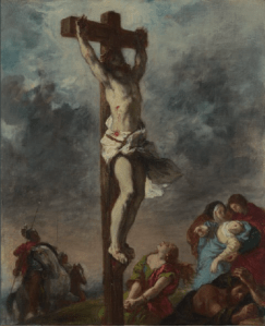 Eugène Delacroix -Christ on the Cross