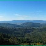 Blue Ridge Mountains along the Skyline Drive near Charlottesville, VA