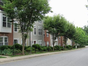 Townhomes in Cherry Hill Neighborhood in City of Charlottesville