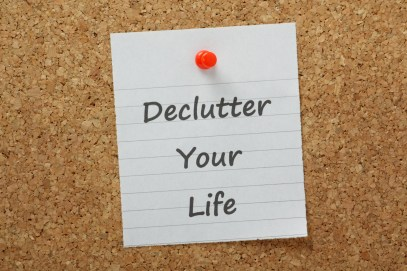 Declutter Your life sign