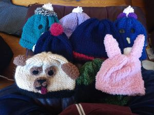 Cute Hand Knitted Children's Hats