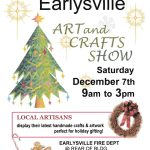 flyer for the 2019 Earlysville Art and Crafts Show