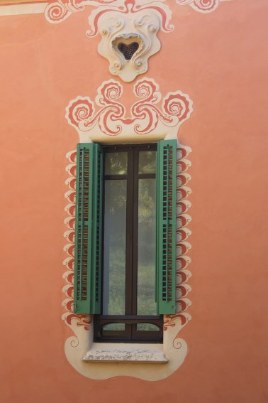 A window in Park Guell