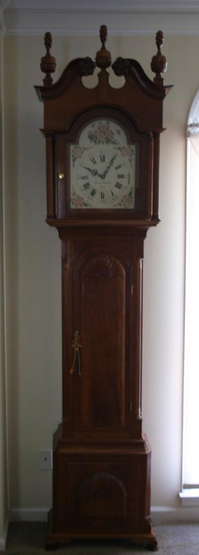 Making a Grandfather Clock – Bruce Bogust