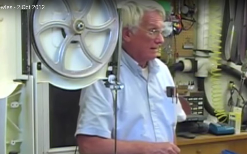 Dave Powles Shows How to Use a Bandsaw to the Waxhaw Woodturners
