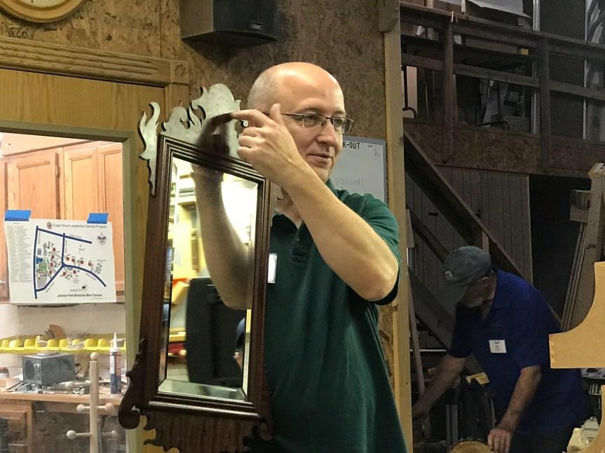 Greg Smith – Mahogany / Poplar Mirror