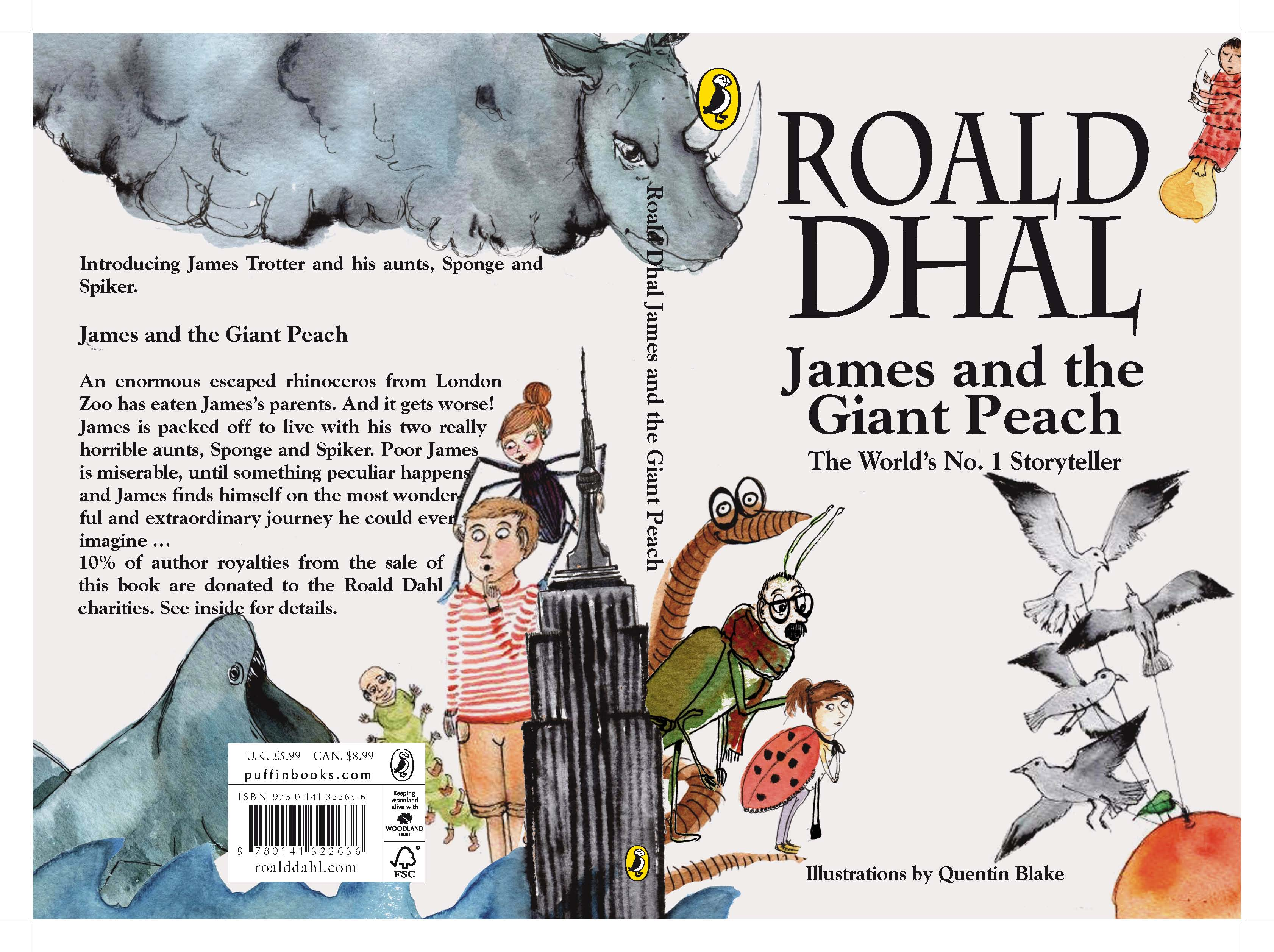 James And The Giant Peach Martin Le Lapin S Blog