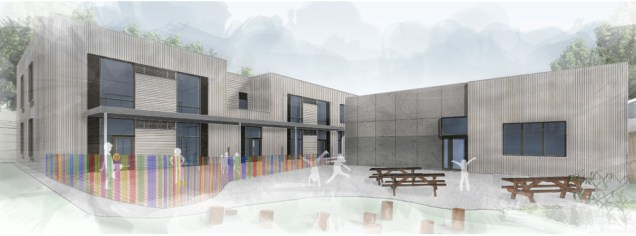Our Lady of Grace site render