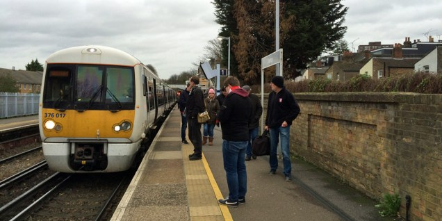 A weekend train at Charlton: There'll be fewer of these over the next few months