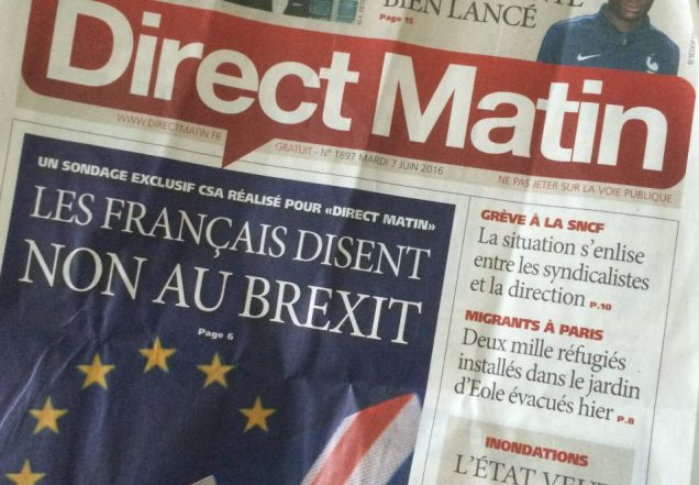 Direct Matin, 6 June 2016