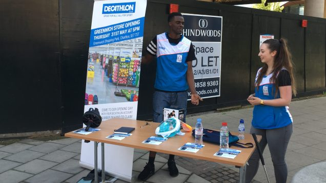 Decathlon promotion