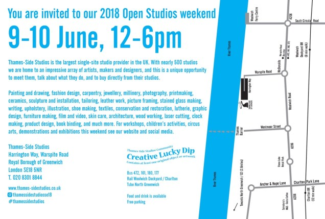Thames-Side Studios flyer