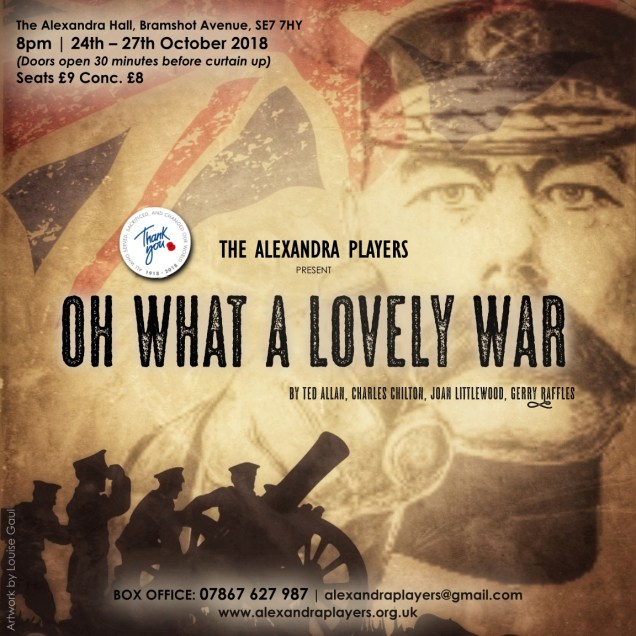 Alexandra Players Oh What A Lovely War Poster