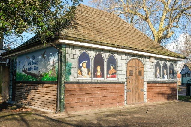 The Old Cottage Cafe in Charlton Park