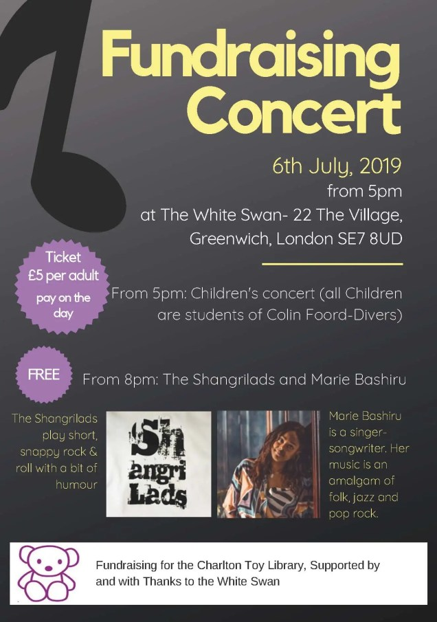 Charlton Toy Library Fundraising Concert Flyer - Final