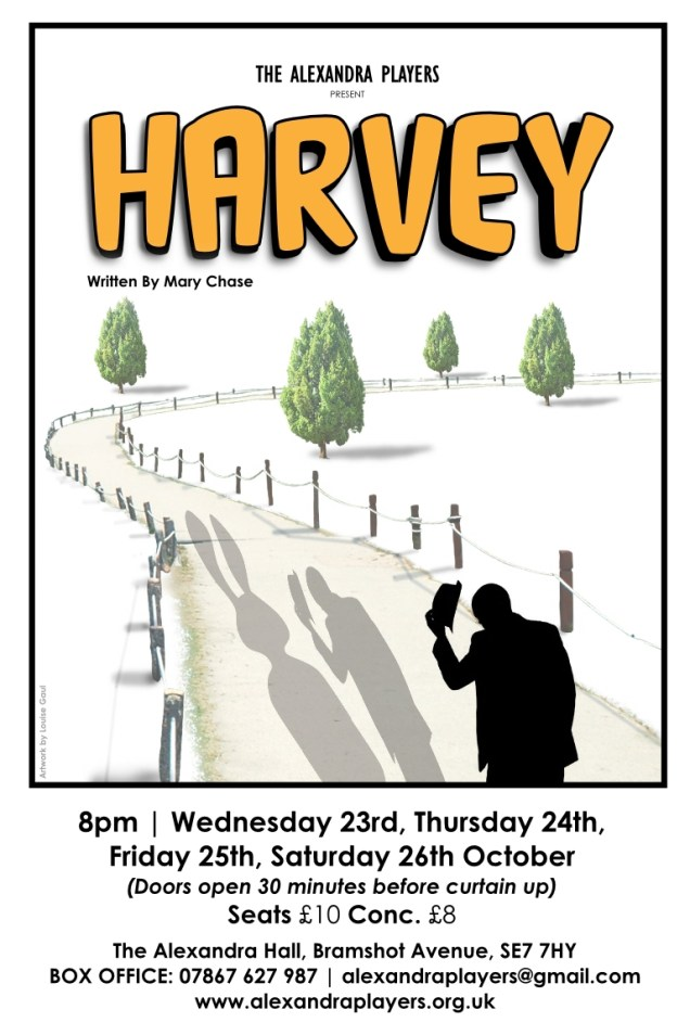 Alexandra Players poster for Harvey