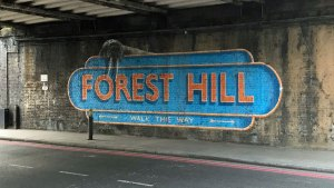 Forest Hill mural