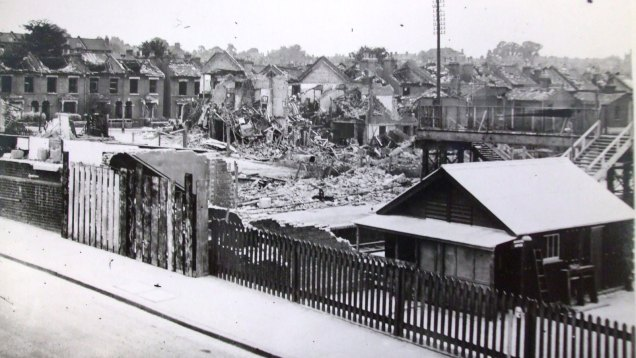 Charlton station, July 1944