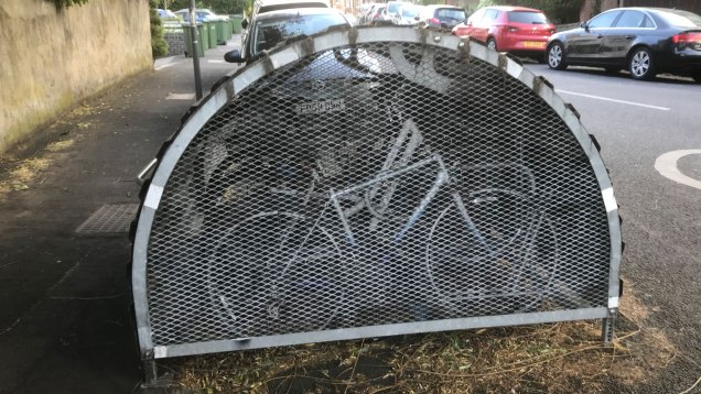 Another cycle hangar