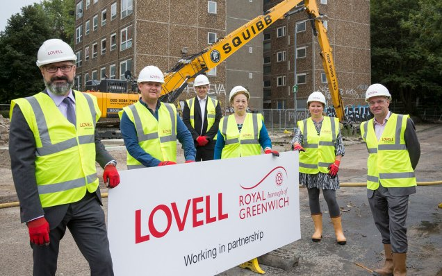 Danny Thorpe and Lovells execs