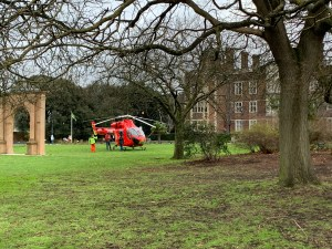 Charlton House air ambulance