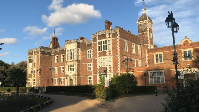 Charlton House in the evening