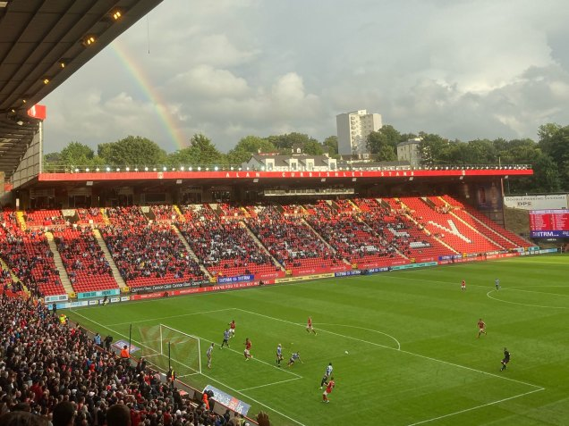 Rainbow at The Valley
