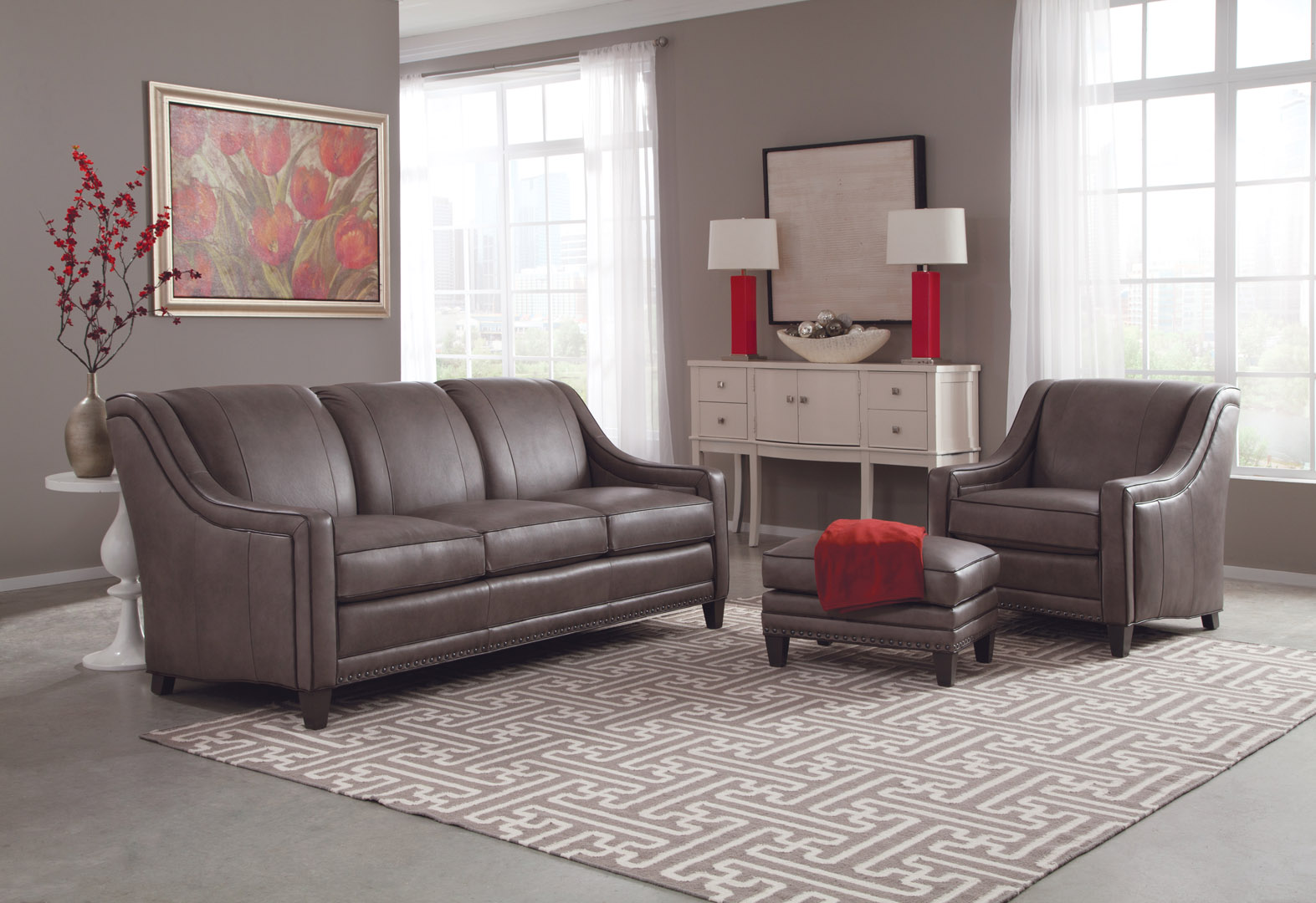 Leather  Charlton Furniture