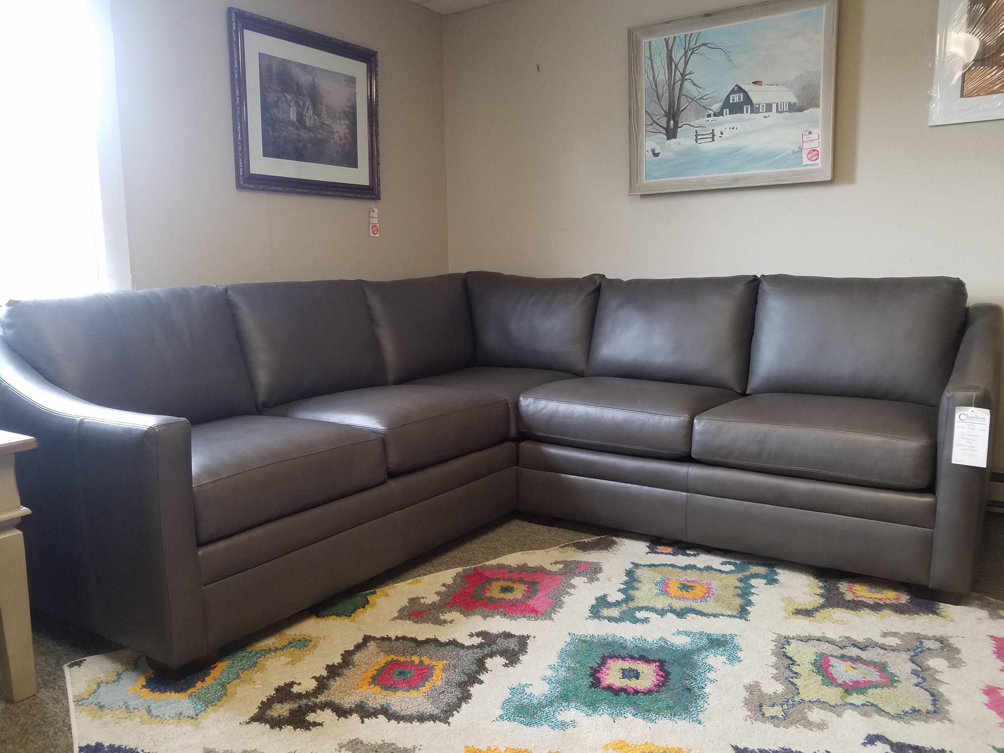 Leather Sectional by Craftmaster  Charlton Furniture