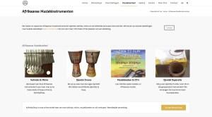 Afrikaanse Muziekinstrumenten