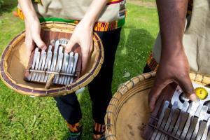 Wamila band Kalimba Juma instruments