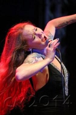 Tucher Blues- und Jazzfestival, Layla Zoe, Autor: Charlotte Moser