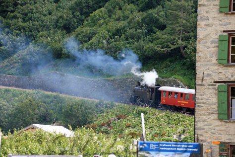 Furkabahn, Gletsch, autor: charlotte moser