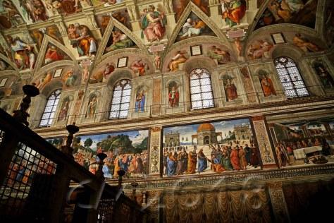 Cappella Sistina - Sixtinische Kapelle, autor: charlotte moser