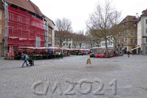 Bamberg, Grüner Markt, Autor: Charlotte Moser