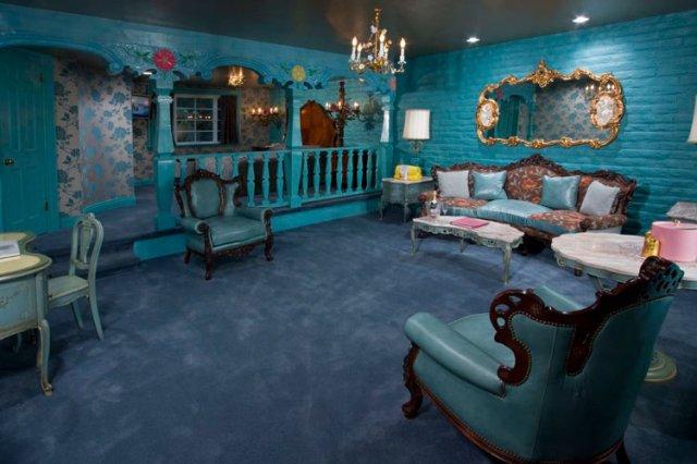 カリフォルニア州マドンナインホテルのロマンスルーム