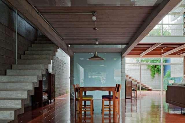 ケロシンハウス-GrupoPSによるモダンコンクリートの家(7)