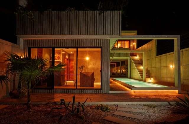 メキシコのトゥルムの活気ある家T-House homesthetics architecture(20)