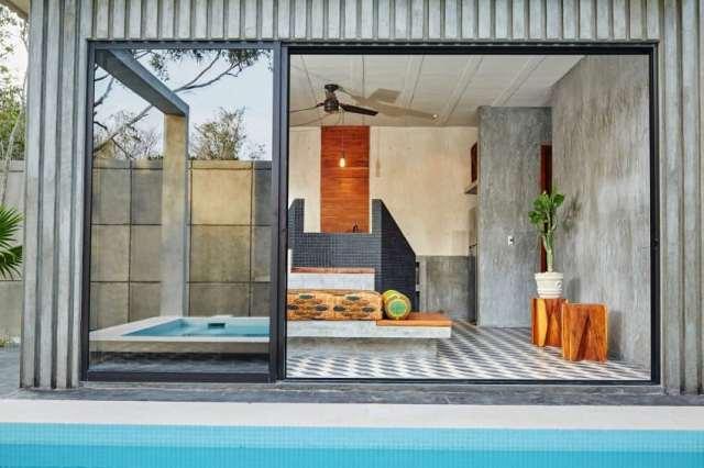 トゥルムメキシコの活気に満ちた家T-House homesthetics architecture(8)