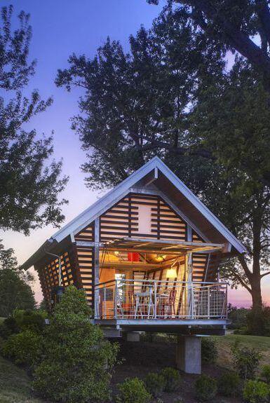 トウモロコシのまぐさtinyの小さな家の改造のアイデア
