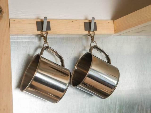 キッチン収納便利なカップ